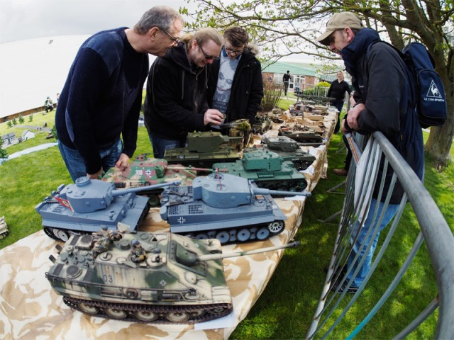 Grantham Light Armoured Division Tanks