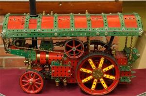 Meccano traction engine