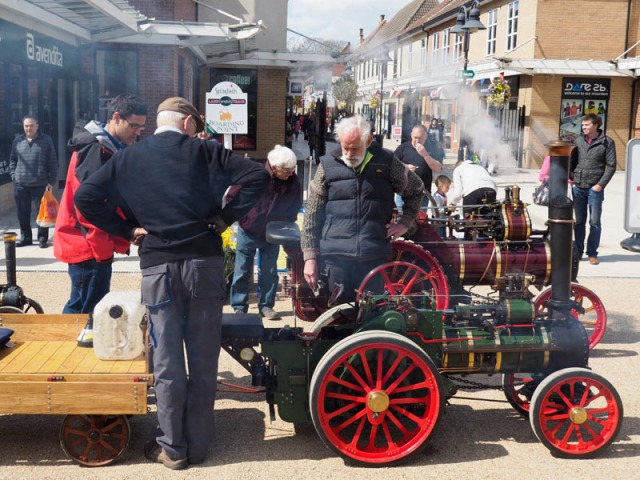 Miniature traction Engine by Springfield Shops